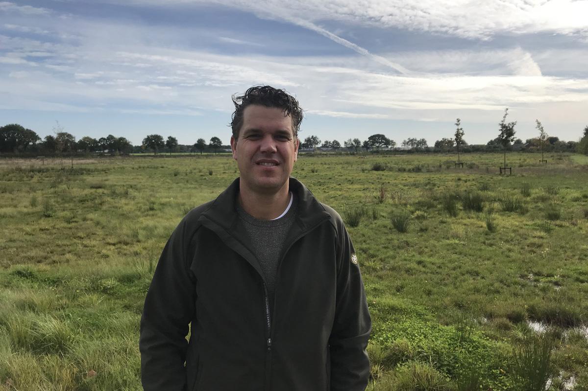 Roy van Boekel, initiatiefnemer Natuurbegraven Nederland